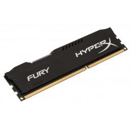 HyperX FURY Black 8GB 1866MHz DDR3 muistimoduuli 1 x 8 GB