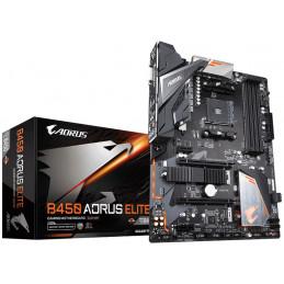 Gigabyte B450 AORUS ELITE emolevy AMD B450 Kanta AM4 ATX