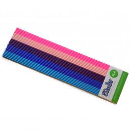 3Doodler PL-MIX9 3D-tulostusmateriaali Polymaitohappo (PLA) Sininen, Vaaleansininen, Vaalea pinkki, Magenta, Purppura