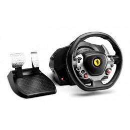 Thrustmaster TX Racing Wheel Ferrari 458 Italia Ed. Musta Ohjauspyörä + polkimet Analoginen PC, Xbox One