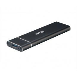 Akasa AK-ENU3M2-02 tallennusaseman kotelo SSD-kotelo Musta M.2