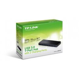 TP-LINK UH720 USB 3.2 Gen 1 (3.1 Gen 1) Micro-B 5000 Mbit s Musta