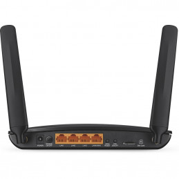 TP-LINK Archer MR200 langaton reititin Nopea Ethernet Kaksitaajuus (2,4 GHz 5 GHz) 3G 4G Musta