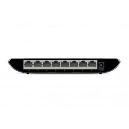 TP-LINK TL-SG1008D Hallitsematon Gigabit Ethernet (10 100 1000) Musta