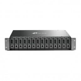 TP-LINK TL-MC1400 verkkolaitekotelo 2U