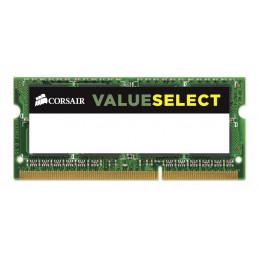 Corsair 4GB, DDR3L, 1600MHz muistimoduuli 1 x 4 GB DDR3