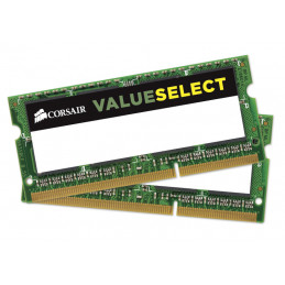 Corsair 2x 4GB, DDR3L, 1600MHz muistimoduuli 8 GB 2 x 4 GB DDR3