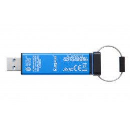 Kingston Technology DataTraveler 2000 64GB USB-muisti USB A-tyyppi 3.2 Gen 1 (3.1 Gen 1) Sininen
