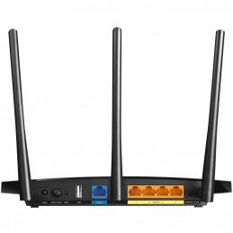 TP-LINK Archer C7 langaton reititin Gigabitti Ethernet Kaksitaajuus (2,4 GHz 5 GHz) Musta
