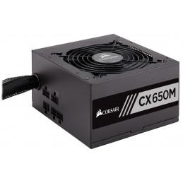 Corsair CX650M virtalähdeyksikkö 650 W 20+4 pin ATX ATX Musta