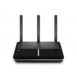 TP-LINK Archer VR600 langaton reititin Gigabitti Ethernet Kaksitaajuus (2,4 GHz 5 GHz) 3G 4G Musta, Hopea