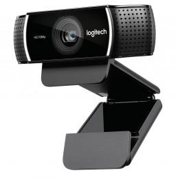 Logitech C922 verkkokamera 1920 x 1080 pikseliä USB Musta