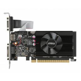 MSI 912-V809-2024 näytönohjain NVIDIA GeForce GT 710 2 GB GDDR3
