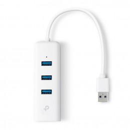 TP-LINK UE330 USB 3.2 Gen 1 (3.1 Gen 1) Type-A 1000 Mbit s Valkoinen