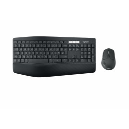 Logitech MK850 näppäimistö RF Wireless + Bluetooth QWERTY Pan Nordic Musta