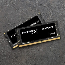 HyperX Impact HX426S15IB2K2 32 muistimoduuli 32 GB 2 x 16 GB DDR4 2666 MHz