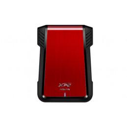 "ADATA EX500 HDD- SSD-kotelo Musta, Punainen 2.5"""