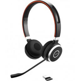 Jabra EVOLVE 65 MS Stereo Kuulokkeet Pääpanta Bluetooth Musta