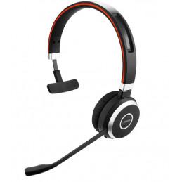 Jabra EVOLVE 65 MS Mono Kuulokkeet Pääpanta Bluetooth Musta