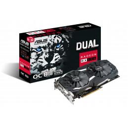 ASUS DUAL-RX580-O8G AMD Radeon RX 580 8 GB GDDR5