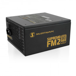 SilentiumPC Supremo FM2 Gold virtalähdeyksikkö 750 W 24-pin ATX ATX Musta