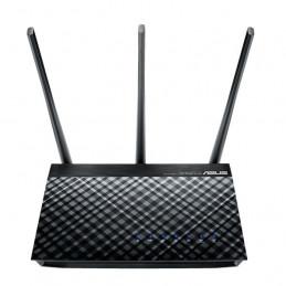 ASUS DSL-AC51 langaton reititin Gigabitti Ethernet Kaksitaajuus (2,4 GHz 5 GHz) Musta