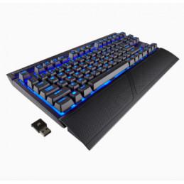 Corsair K63 näppäimistö USB + Bluetooth QWERTY Musta