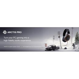 Steelseries Arctis Pro Kuulokkeet Pääpanta 3,5 mm liitin Musta