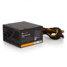 SilentiumPC Elementum E2 virtalähdeyksikkö 450 W 24-pin ATX ATX Musta