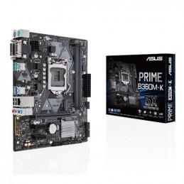 ASUS PRIME B360M-K Intel® B360 LGA 1151 (pistoke H4) mikro ATX
