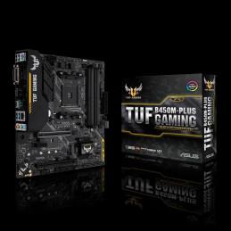ASUS TUF B450M-PLUS GAMING AMD B450 Kanta AM4 mikro ATX