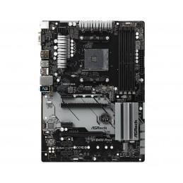 Asrock B450 Pro4 AMD B450 Kanta AM4 ATX
