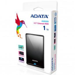 ADATA HV620S ulkoinen kovalevy 1000 GB Musta