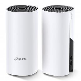 TP-LINK Deco M4(2-pack) Kaksitaajuus (2,4 GHz 5 GHz) Wi-Fi 5 (802.11ac) Valkoinen Sisäinen