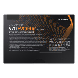 Samsung 970 EVO Plus M.2 250 GB PCI Express 3.0 V-NAND MLC NVMe