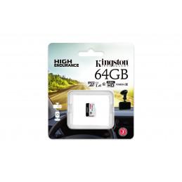 Kingston Technology High Endurance flash-muisti 64 GB MicroSD UHS-I Luokka 10