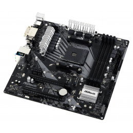 ASUS TUF B450M-PRO GAMING emolevy Kanta AM4 mikro ATX AMD B450