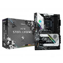 Asrock X570 Steel Legend AMD X570 Kanta AM4 ATX