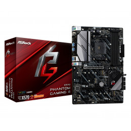 Asrock X570 Phantom Gaming 4 AMD X570 Kanta AM4 ATX