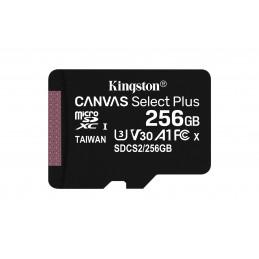 Kingston Technology Canvas Select Plus flash-muisti 256 GB MicroSDXC UHS-I Luokka 10