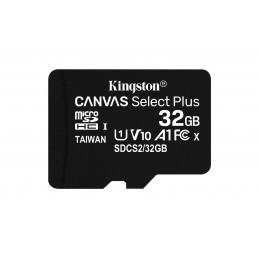 Kingston Technology Canvas Select Plus flash-muisti 32 GB MicroSDHC UHS-I Luokka 10