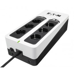 Eaton 3S450D UPS-virtalähde Valmiustila (ilman yhteyttä) 450 VA 270 W 6 AC-pistorasia(a)