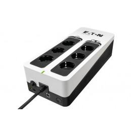 Eaton 3S550D UPS-virtalähde Valmiustila (ilman yhteyttä) 550 VA 330 W 6 AC-pistorasia(a)