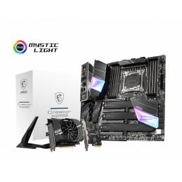 MSI Creator X299 Intel® X299 LGA 2066 (Socket R4) Laajennettu ATX