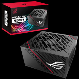 ASUS ROG-STRIX-550G virtalähdeyksikkö 550 W 20+4 pin ATX ATX Musta