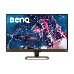 """Benq EW3280U 81,3 cm (32"""") 3840 x 2160 pikseliä 4K Ultra HD LED Musta, Ruskea"""