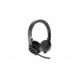 Logitech Zone Wireless Plus Kuulokkeet Pääpanta Bluetooth Musta